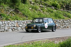 Old Mini - Historic car Stock Photography