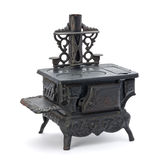 Old Miniature Stove Royalty Free Stock Photo