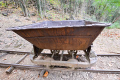 Old mining cart Stock Photography
