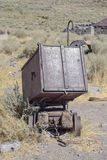 Old Mining Cart Royalty Free Stock Photography