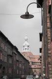 Old Mining district. Katowice Nikiszowiec Poland Royalty Free Stock Image