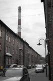 Old Mining district. Katowice Nikiszowiec Poland Royalty Free Stock Photos