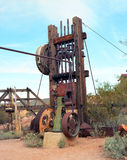 Old Mining Equipment Royalty Free Stock Images