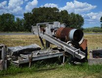 Old mining equipment Royalty Free Stock Photo