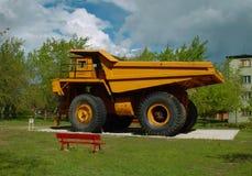 Old mining equipment Stock Photo
