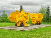 Old mining equipment Stock Photos