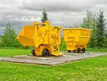 Old mining equipment Stock Photos