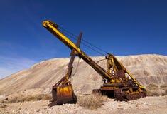 Old Mining Heavy Equipment Royalty Free Stock Photos