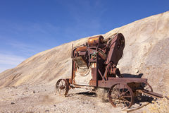 Old Mining Mixer Royalty Free Stock Photos
