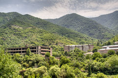 Old mining site in Alaverdi Stock Images