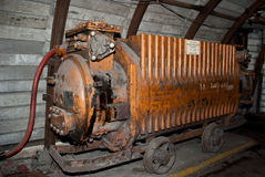 Old mining substation Royalty Free Stock Photography