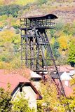 Old mining tower Royalty Free Stock Photos