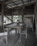 Old Mining Town. An old mining town somewhere in Australia. This table must be a least 80 years old Stock Photography