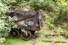Old mining train car Royalty Free Stock Image