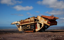 Old Mining Vehicle Royalty Free Stock Images