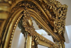 Old mirror frame Royalty Free Stock Photo
