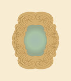 Old  mirror vector Royalty Free Stock Photography