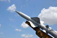 Old missile air defense Royalty Free Stock Images
