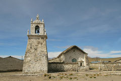Old Mission. Of Guallatiri, Chile Stock Images