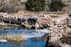 Old Mission Dam in Mission Trails Regional Park Royalty Free Stock Image
