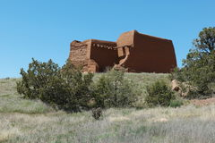 Old mission in Pecos Royalty Free Stock Images