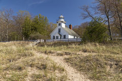 Mission Point Lighthouse Stock Image
