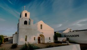 Old Mission in Scottsdale, Phoenix Royalty Free Stock Photo