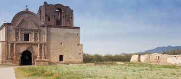 An Old Mission, Tumacacori National Historical Park Royalty Free Stock Photo