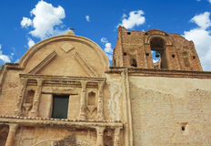 An Old Mission, Tumacacori National Historical Park. Arizona royalty free stock image