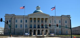 Old Mississippi State Capitol Stock Image