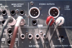 Old mixer overhead Stock Image