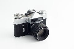 Old 35 mm camera Royalty Free Stock Photos