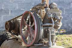 Old mobile generator Stock Photography