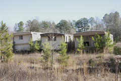 Old Mobile Homes Trailer stock photography