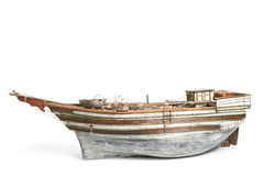 Old Model Boat Royalty Free Stock Photos