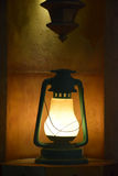 Old model electric lamp Stock Images