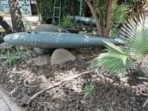 Old Model Submarine at a Animal Park royalty free stock photos