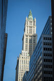 Old and modern buildings in New York City. Mix of old and modern buildings in New York City Royalty Free Stock Image