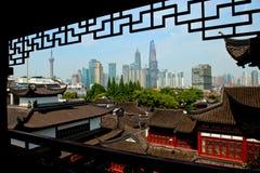Old and modern Shanghai Stock Photos
