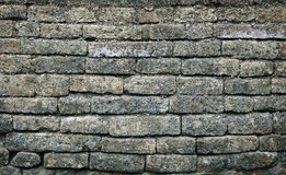Old moldy brick wall background Stock Image