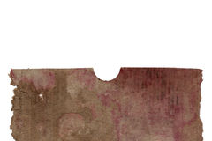 Old Moldy Cardboard Background Royalty Free Stock Photography