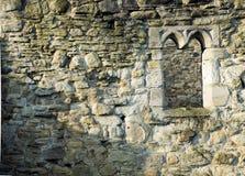 Old Monastary Brick Stone Wall Royalty Free Stock Images