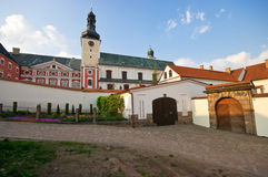Old monastery. In Broumov, Czech Republic royalty free stock images