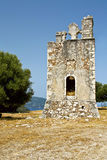 Old monastery of 'Agrilia' at Kefalonia Royalty Free Stock Image