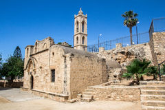Old monastery. Of ayianapa cyprus royalty free stock image