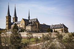 Old Monastery in Bamberg. Old Monastery St. Michael in Bamberg, Germany stock photos
