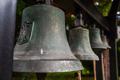Old monastery bells Royalty Free Stock Image