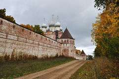Old monastery in Borisoglebsk, Russia Royalty Free Stock Photos
