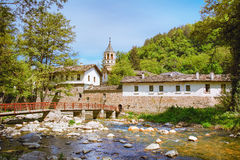 An Old Monastery. In Bulgaria royalty free stock image