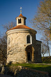 Old monastery chapel. In vysehrad Prague Royalty Free Stock Images